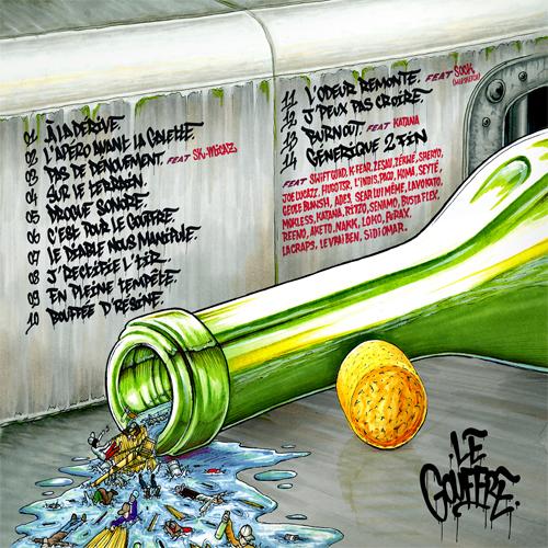 Tracklist - Le Gouffre - L'Apéro Avant La Galette